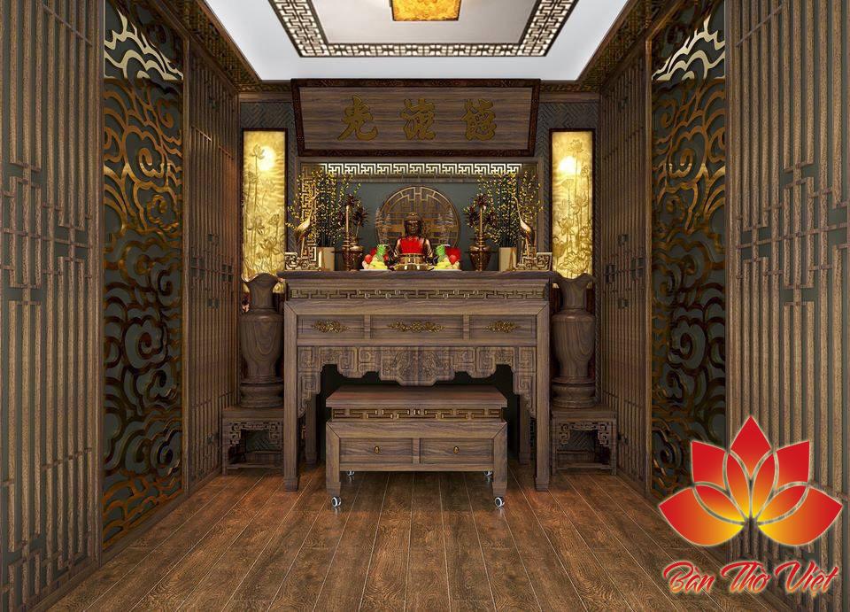 Tóp 7 mẫu thiết kế phòng thờ nhà Phố Đẹp, sang trọng Nhất