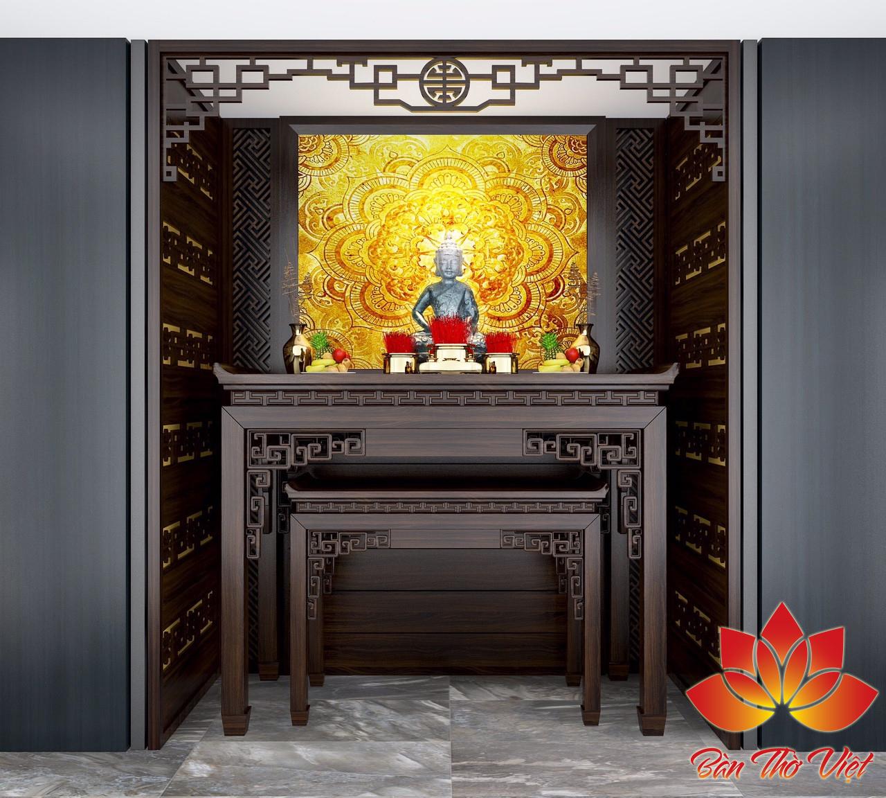 Tham khảo một số mẫu thiết kế phòng thờ sang trọng và hiện đại nhất