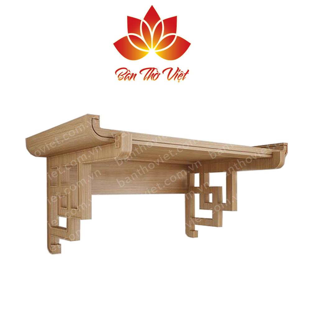 Mẫu bàn thờ phòng khách thiết kế gọn gàng, hiện đại
