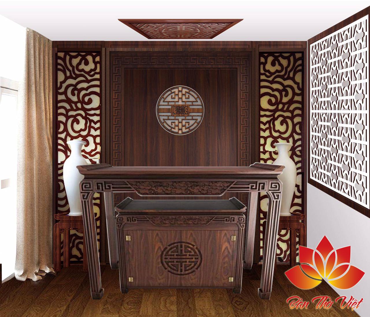 Top những mẫu thiết kế phòng thờ đẹp theo phong thủy cho nhà ống hiện đại