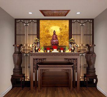 Tư vấn cách trang trí phòng thờ đẹp, hợp phong thủy - Gia chủ nên biết