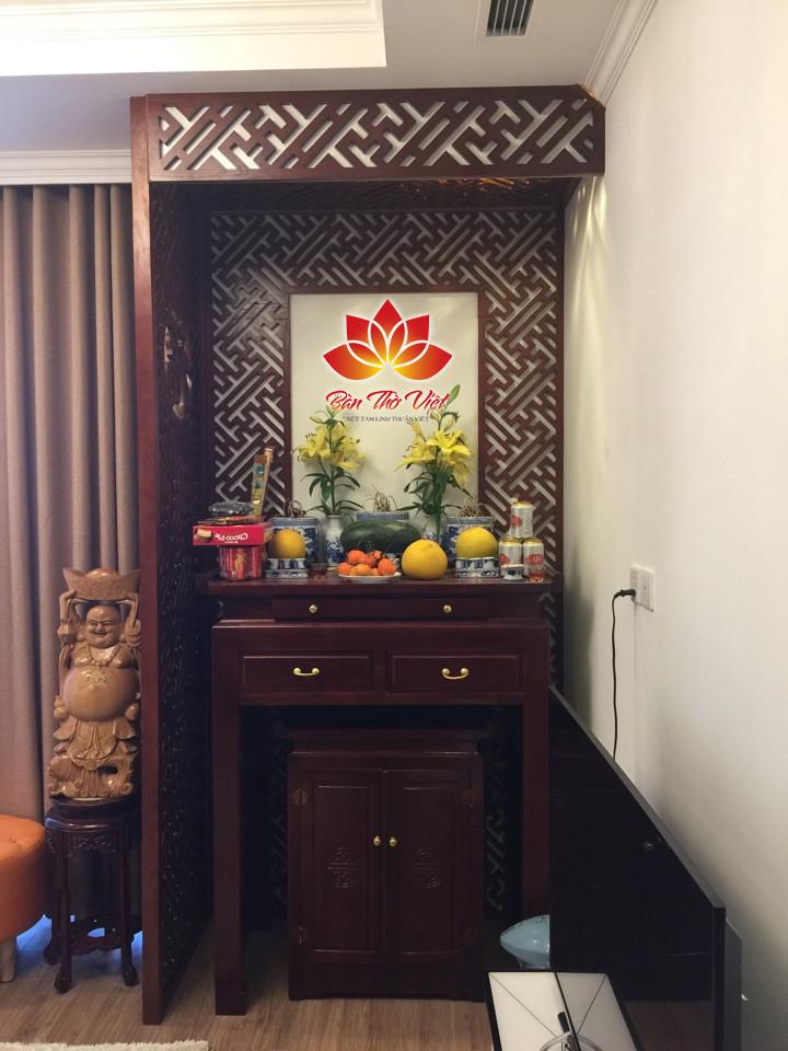 Phòng thờ ở Mê Linh là phòng thờ tổ, phòng thờ Phật, Phòng thờ cao cấp luôn sẵn sàng phục vụ khách hàng