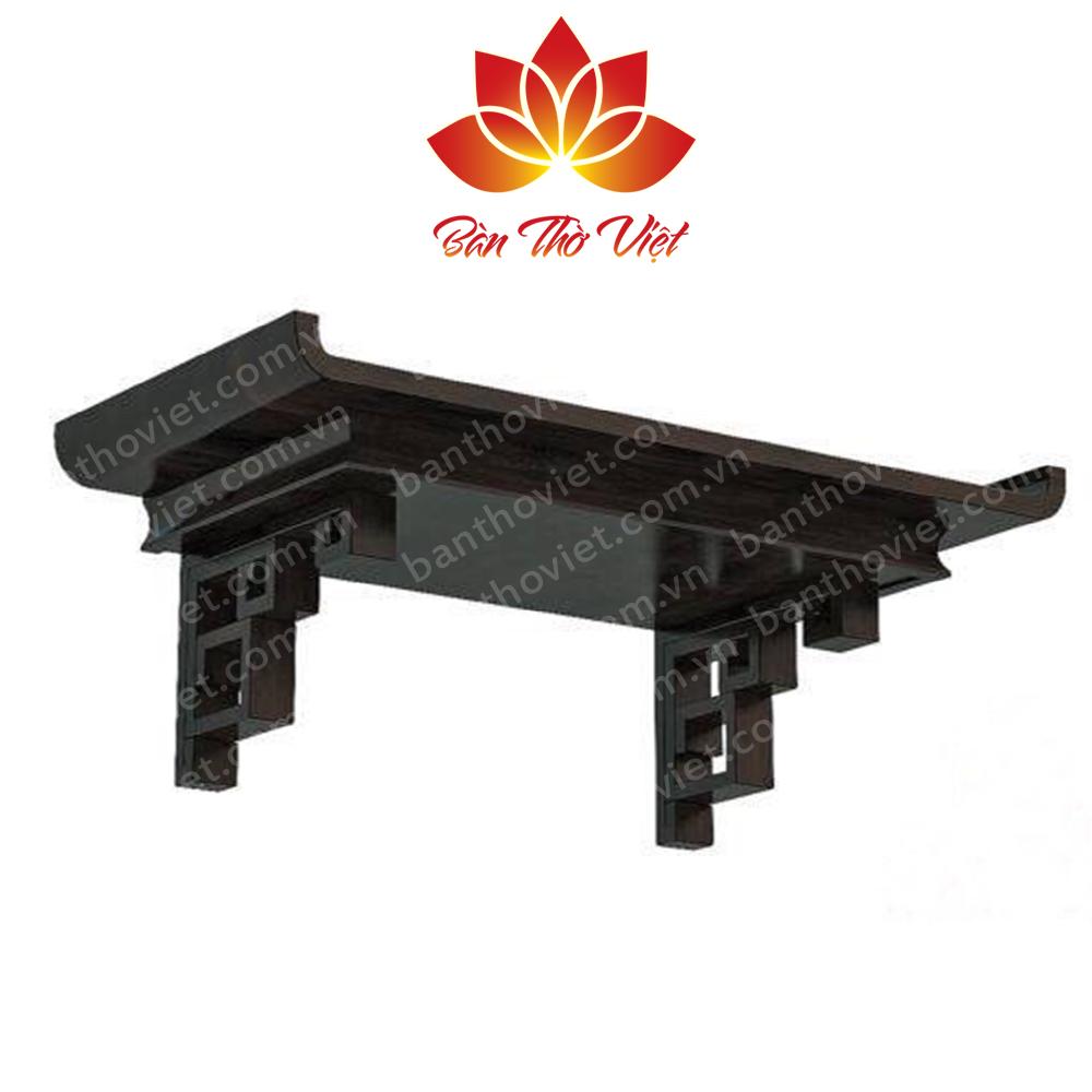 Bàn thờ phòng khách gỗ tự nhiên chắc chắn, đảm bảo chất lượng