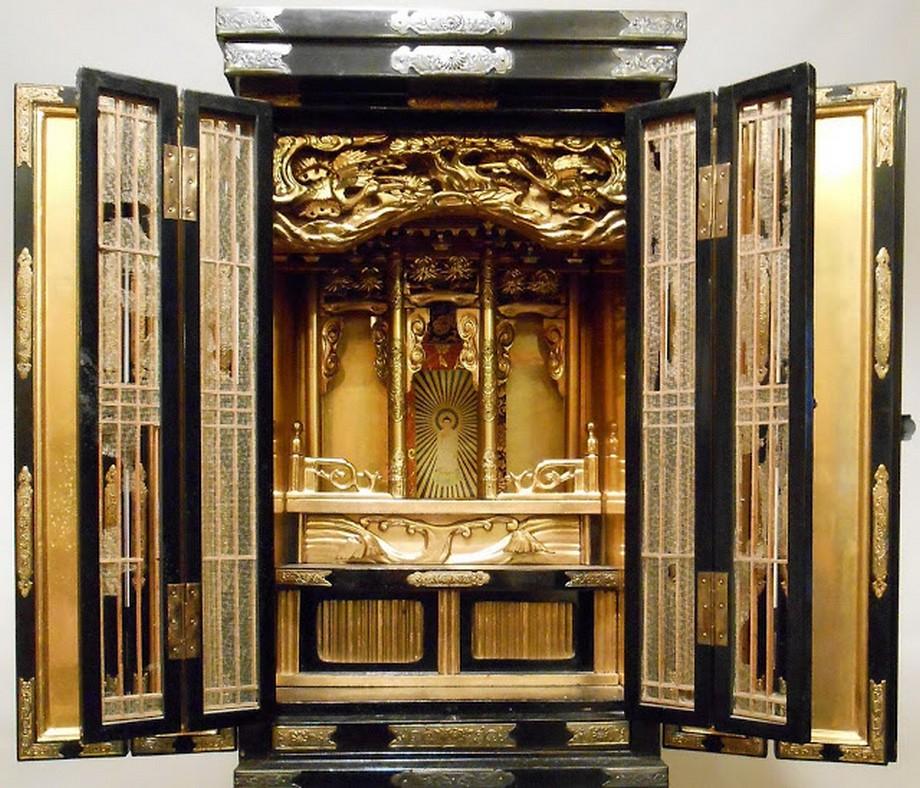 Điểm nhấn nổi bật trong thiết kế phòng thờ kiểu Nhật